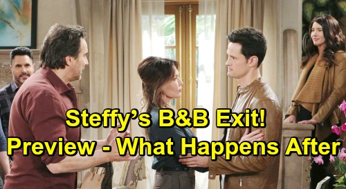 The Bold and the Beautiful Spoilers: What Happens After Steffy's B&B Exit – Preview of Baby Drama, Romantic Hurdles and More