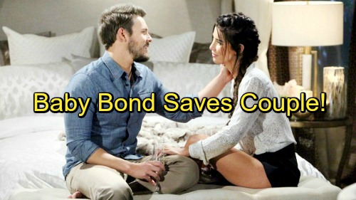 The Bold and the Beautiful Spoilers: Baby Bond Forms Between Liam and Steffy – Relationship Saved By Love For Daughter