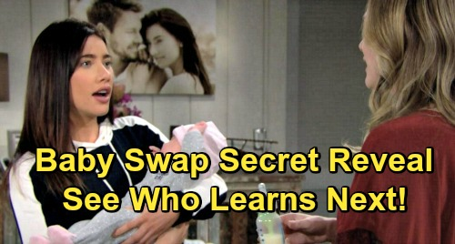 The Bold and the Beautiful Spoilers: Another Phoebe Secret Club Member – See Who Finds Out the Stunning Baby Swap Truth Next