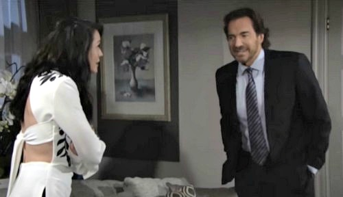 The Bold and the Beautiful Spoilers: Eric Leaves Town For The Young and the Restless Visit - Quinn Makes Ridge Co-CEO