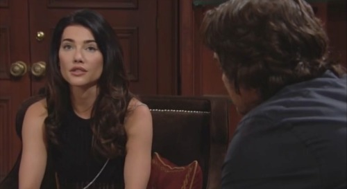 The Bold and the Beautiful Spoilers: Zende and Nicole Battle Over Second Surrogacy Request - Ridge Pushes Steffy to Leave Wyatt