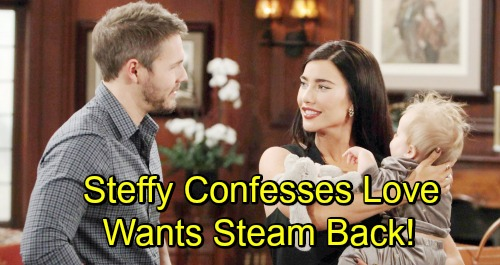 The Bold and the Beautiful Spoilers: Steffy Confesses Feelings To Liam - Wants Steam Back Despite Hope's Pregnancy