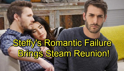 The Bold and the Beautiful Spoilers: Steffy Faces Romantic Failure, Can't Replace Love for Liam – B&B Sets Up 'Steam' Reunion