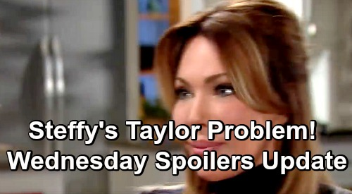 The Bold and the Beautiful Spoilers: Wednesday, December 12 Update – Nervous Steffy Fights Taylor Mob – Reese Plays with Fire