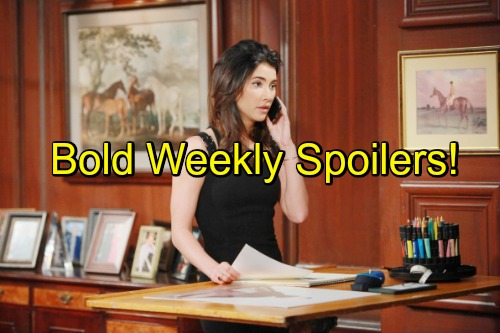 'The Bold and the Beautiful' Spoilers: Week of October 3-7 – Tricky Alliances, Massive Betrayal and Joyful Reunion