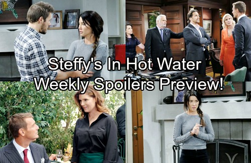 The Bold and the Beautiful Spoilers: Week of December 4 Update - Steffy Deceives Liam Again – Thorne's Sneaky Goal Enrages Ridge