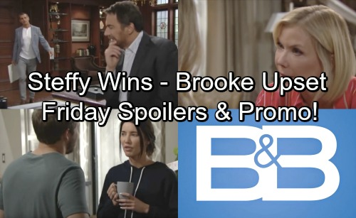 The Bold and the Beautiful Spoilers: Friday, June 8 – Steffy Gets Dream Reunion – Hope Accepts Her Fate, Brooke Can't Let Go