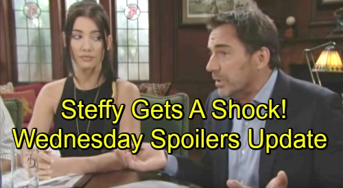 The Bold and the Beautiful Spoilers: Wednesday, September 5 Update – Ridge Shocks Steffy – Brooke Fears the Worst