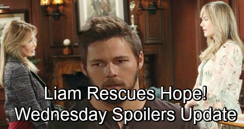The Bold and the Beautiful Spoilers: Wednesday, November 28 Update – Bill Blasts Steffy - Liam Stops Taylor's Attack On Hope