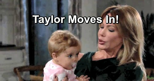 The Bold and the Beautiful Spoilers: Taylor To Move In With Steffy - War Erupts Over Kelly's Safety