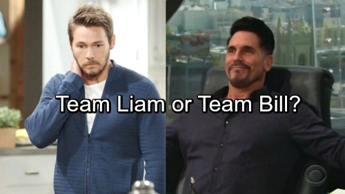 The Bold and the Beautiful Spoilers: Liam Doesn't Deserve Steffy - Bill is the Better Man