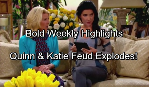 'The Bold and the Beautiful' Spoilers: Updates November 21-25 – Fierce Faceoffs, Romantic Surprises and a Thanksgiving Truce
