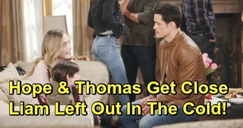 The Bold and the Beautiful Spoilers: Hope & Thomas Find Comfort Together - Lope Threatened, Liam Left Out In The Cold