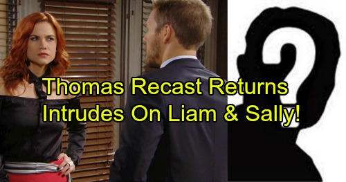 The Bold and the Beautiful Spoilers: Liam and Sally Get Together – Only to Have Recast Thomas Return