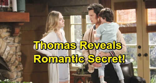 The Bold and the Beautiful Spoilers: Thomas Shocks Ridge with Romantic Secret – Hope's Future Changes
