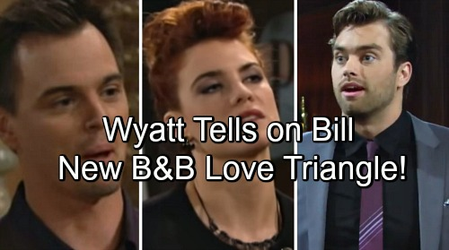 The Bold and the Beautiful Spoilers: Wyatt Warns Spectra of Bill's Plot – Love Triangle for Wyatt, Sally and Thomas?