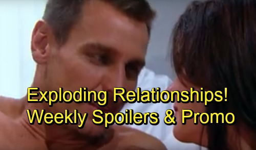 The Bold and the Beautiful Spoilers: Week of October 8 Preview Promo - Sneaky Plans, Surprising Offers and Exploding Relationships