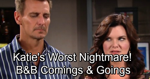 The Bold and the Beautiful Spoilers: Comings and Goings – Heather Tom Previews Katie's Worst Nightmare – Jacob Young's Exciting New Role