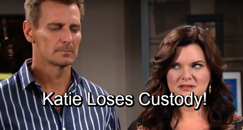 The Bold and the Beautiful Spoilers: Does Katie Lose Custody of Will For Being An Accessory To Conspiracy?