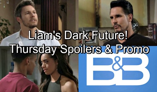 The Bold and the Beautiful Spoilers: Thursday, August 9 – Bill Hints at Liam's Dark Future – Emma Seethes Over Zoe's New Friend