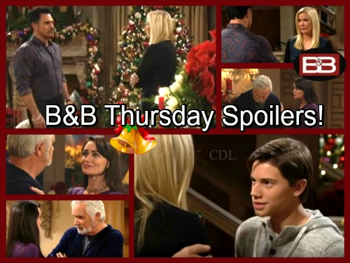 The Bold and the Beautiful Spoilers: Bill Upset by Engagement, Feels Brooke Isn't Following Her Heart – Quinn Cheers Eric Up