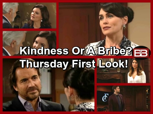 The Bold and the Beautiful Spoilers: Ridge Blown Away by Quinn's Act of Kindness – Thomas Fumes, Passed Over for CEO