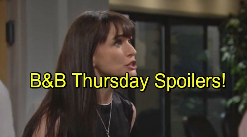 'The Bold and the Beautiful' Spoilers: Quinn Fears Eric's Dying – Ridge Schemes as Others Face Guilt