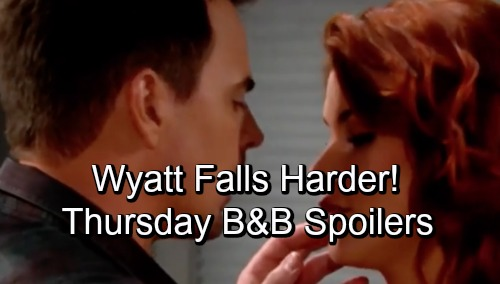 The Bold and the Beautiful Spoilers: Thursday, October 4 – Emma Gets a Warning About Her Past – Wyatt Falls Harder for Sally