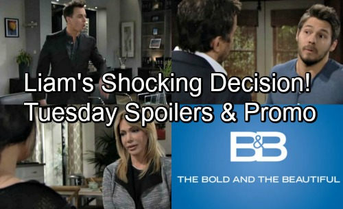 The Bold and the Beautiful Spoilers: Tuesday, May 1 – Liam Chooses Steffy, But Bad News Changes Everything