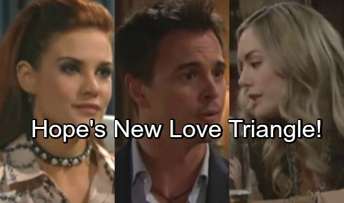 The Bold and the Beautiful Spoilers: Hope Trades One Love Triangle for Another – Fights Sally in War for Wyatt's Heart