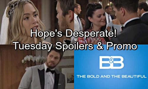 The Bold and the Beautiful Spoilers: Tuesday, May 29 – Hope and Liam Postpone - Thorne Hits On Katie – Justin's Move Stuns Bill