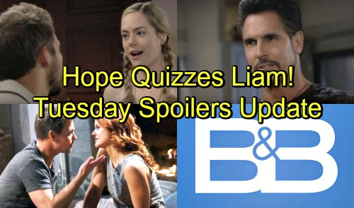 The Bold and the Beautiful Spoilers: Tuesday, June 26 – Bill Pushes Steffy to Admit Deep Connection – Sally and Wyatt Make Love