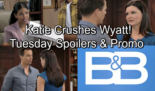 The Bold and the Beautiful Spoilers: Tuesday, June 12 – Xander Avant Shakes Things Up – Katie Drops Bombs on Wyatt