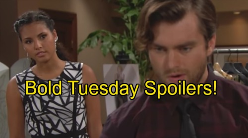 'The Bold and the Beautiful' Spoilers: Thomas and Sasha Hit It Off - Ridge Pushes Katie to Bring Bill Down