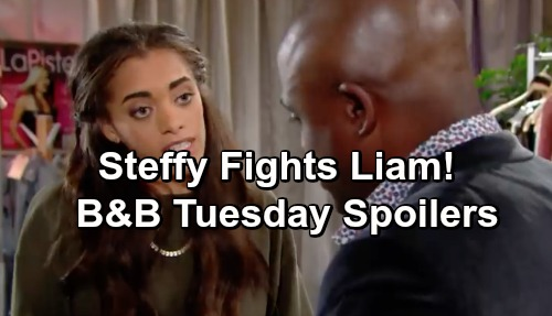 The Bold and the Beautiful Spoilers: Tuesday, December 11 - Zoe Vents About Her Dad - Liam and Steffy Argue Over Taylor