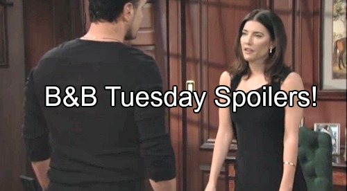 'The Bold and the Beautiful' Spoilers: Steffy Warns Bill to Stop Playing Favorites – Sasha Continues Scheming