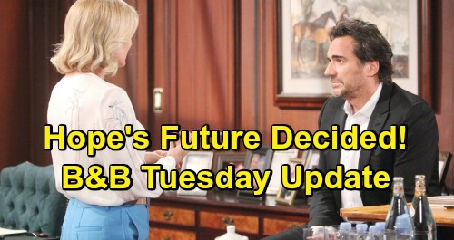 The Bold and the Beautiful Spoilers: Tuesday, May 7 Update – Liam Rushes Home After Wyatt Exposes Thomas' Scheme – Sally Moves Out