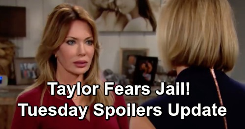 The Bold and the Beautiful Spoilers: Tuesday, December 4 Update – Raging Taylor Fears Brooke's Threat – Quinn Takedown Mission Revs Up