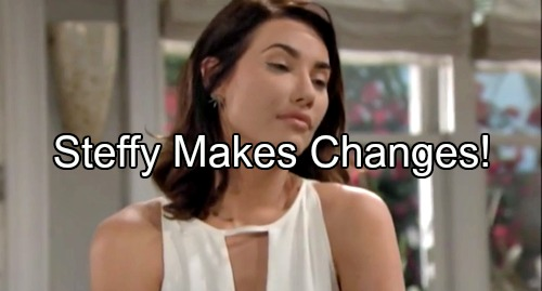'The Bold and the Beautiful' Spoilers: Steffy Makes Major Changes - Troubled by Endless Man Cycle, Ridge Offers Guidance