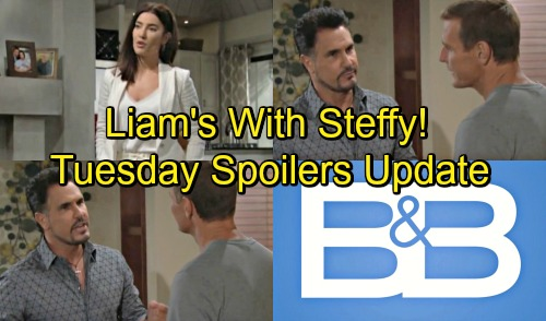 The Bold and the Beautiful Spoilers: Tuesday, August 28 Update - Hope Needs Liam But He's With Steffy - Will Rejects Bill