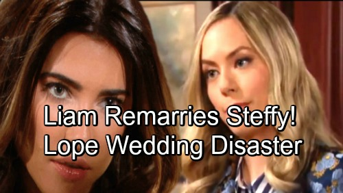 The Bold and the Beautiful Spoilers: Lope's Disastrous Wedding Day Sparks Steam Reunion – Liam Remarries Steffy in Shocking Twist