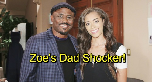 The Bold and the Beautiful Spoilers: Wayne Brady Joins B&B As Zoe's Dad, Dr. Buckingham - Shocked To Find Daughter Modeling Underwear