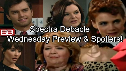 The Bold and the Beautiful Spoilers: Thomas Fights Steffy Over Sally – Spectra's Preview Kicks Off, Trouble Brewing