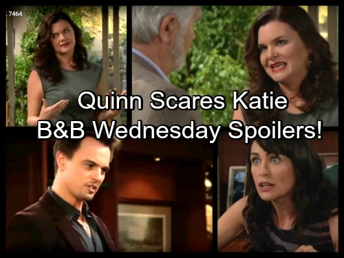 'The Bold and the Beautiful' Spoilers: Katie Fears New Enemy, Quinn Intends to Stop Threat – Bill Gives Brooke an Ultimatum