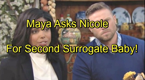 The Bold and the Beautiful Spoilers: Steffy Decides Fate of Her Marriage – Maya Wants Another Nicole Baby, Zende Freaks