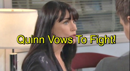 'The Bold and the Beautiful' Spoilers: Quinn Vents to Wyatt, Vows to Protect Eric from Forrester Family – Pam's Meltdown
