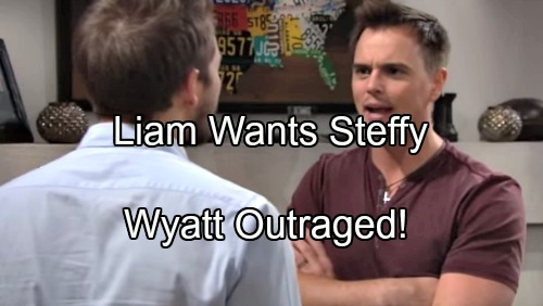 'The Bold and the Beautiful' Spoilers: Liam Insists on Getting Back Steffy and The Life Quinn Stole, Wyatt Outraged