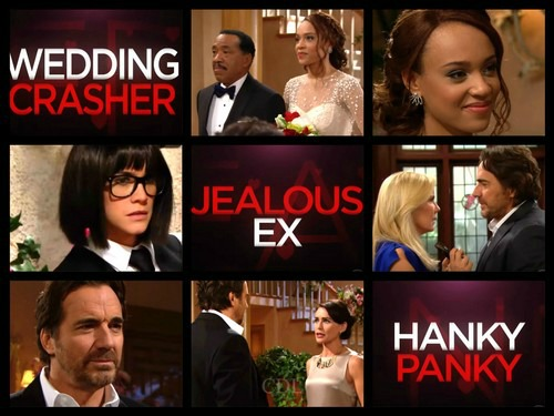The Bold and the Beautiful Spoilers: Sally Dons Disguise and Crashes Wedding – Ridge and Quinn Sizzle, Can't Fight Connection