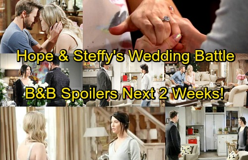 The Bold and the Beautiful Spoilers for Next 2 Weeks: Steffy and Hope's Wedding Battle – Brooke and Taylor Face Off