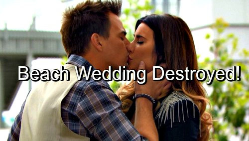 The Bold and the Beautiful (B&B) Spoilers: Wyatt and Steffy's Wedding Nears – Beach Ceremony Ends in Chaos